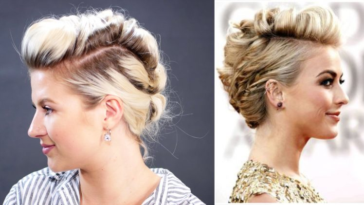 Discover Beauty & Sensitivity Of Female Braided Mohawk Updo